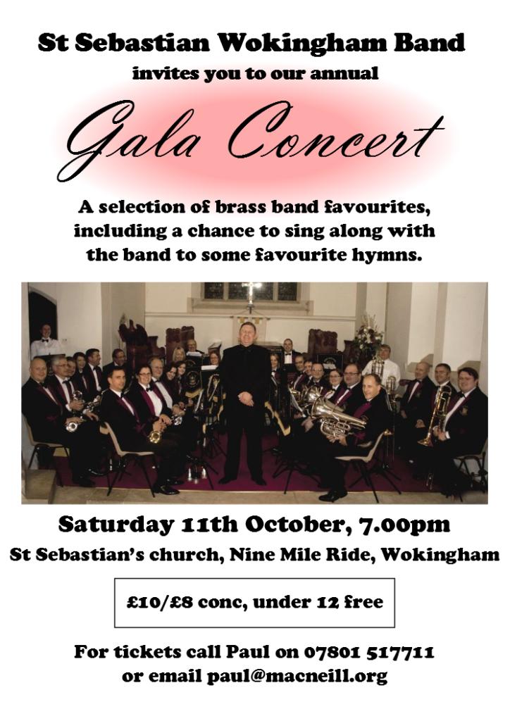 2014 autumn concert poster