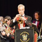 Flugel Horn Damon Emes performing A Time for Peace
