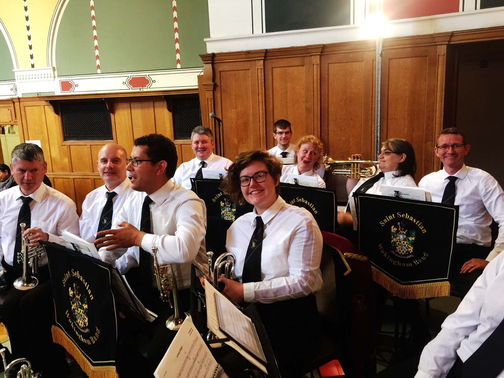 Our Awesome cornet section!